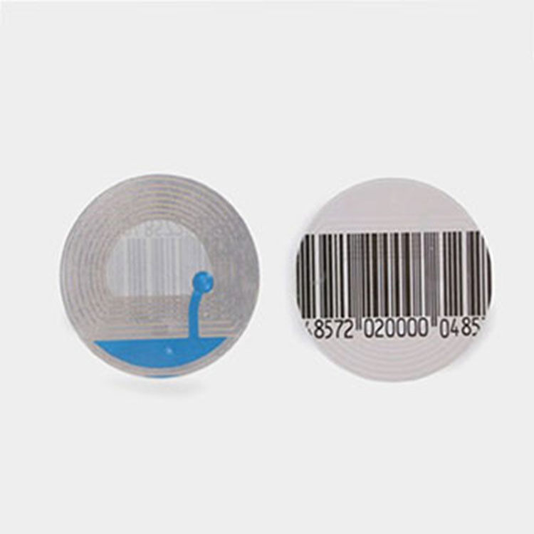 eas RF Magnetic Barcode Soft Label 8.2MHz stricker labels eas rf system