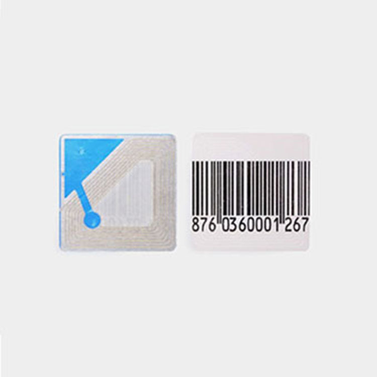 8.2KHz RF Round White Soft Labels Dimension 40mm EAS Anti Theft Tag